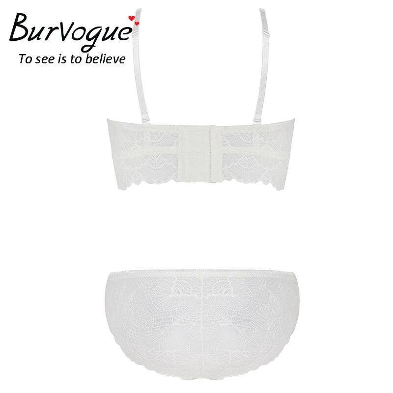 37b2ff3c947d Burvogue 3 Sets venta 10 dólares mujeres sujetador con aros sujetador ropa  interior Set Push Up ...