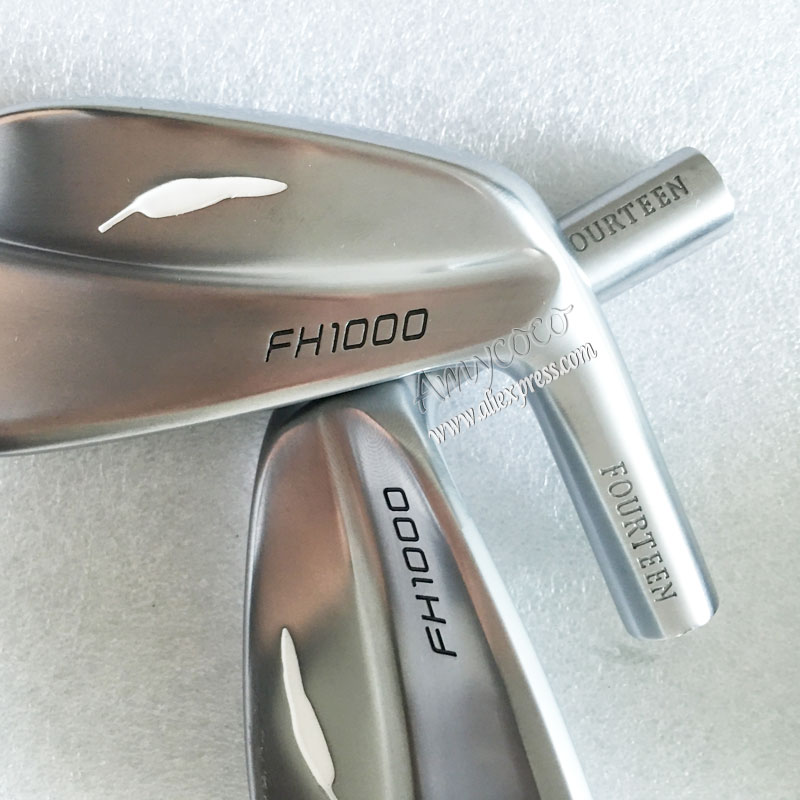 New Golf head FH1000 Golf Irons head set 4-9P Irons head no shaft Free shipping