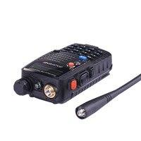"""רדיו ווקי טוקי (6 PCS) Baofeng UV5RA Ham שני הדרך רדיו טוקי ווקי Dual-Band מקמ""""ש (שחור) (5)"""
