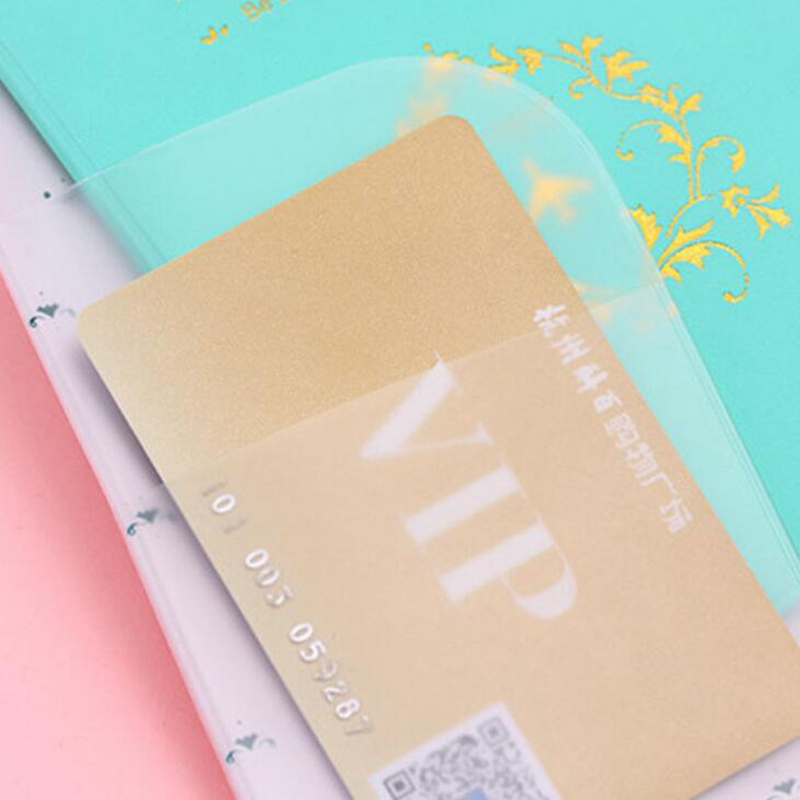 Travel Passport Cover Women Men Candy Colors Passport Creditcard ...