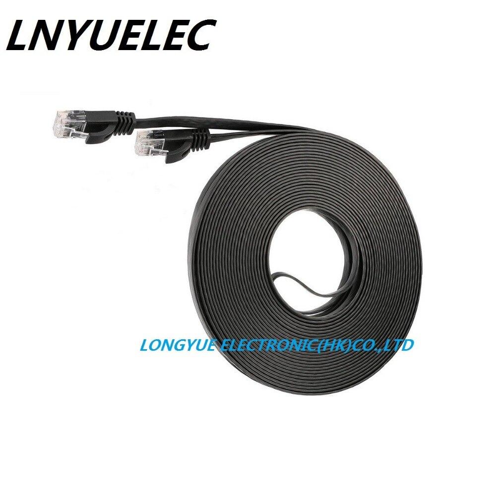 RJ45 CAT6 8P8C Flat Ethernet Patch Network Lan Cable Various Length 1M2M Hotsale