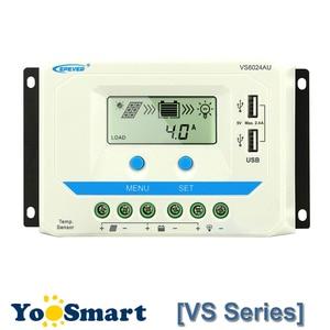 Image 1 - Epever 10A 20A 30A 45A 60A Solar Charge Controller Controlador De Carga 12V 24V Auto Pwm Solar Rregulators vs Serie Hot Koop