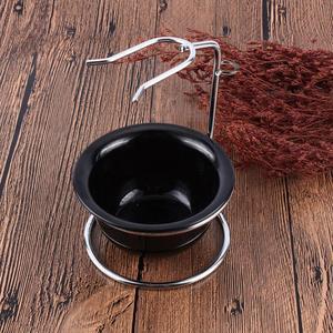 Image 5 - Durable New Beauty Design Men Shaving Bowl Mug Brush Soap Dish Stand Holder Portable Shaving Razor Beard Clean Shaver Kits Set