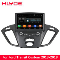 KLYDE 8 4G Android 8 Octa Core 4GB RAM 32GB ROM RDS Car DVD Player Radio For Ford Transit Custom 2013 2014 2015 2016 2017 2018