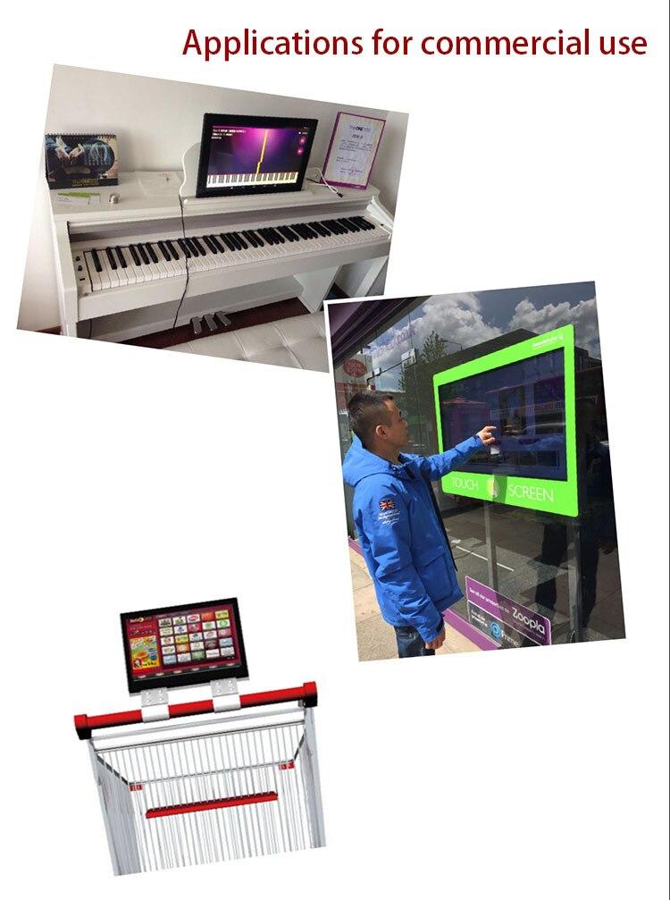 Tudo Em Um Painel de Toque Industrial PC Embutido