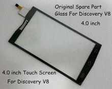 100% De Rechange D'origine Partie 4.0 pouce Écran Tactile En Verre Pour Discovery V8 Smartphone