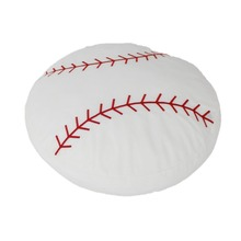 Stuffed Baseball Pillow Plush Fluffy Ball Throw Soft Durable Sports Toy Gift for Kids Room Decoration Summer Style