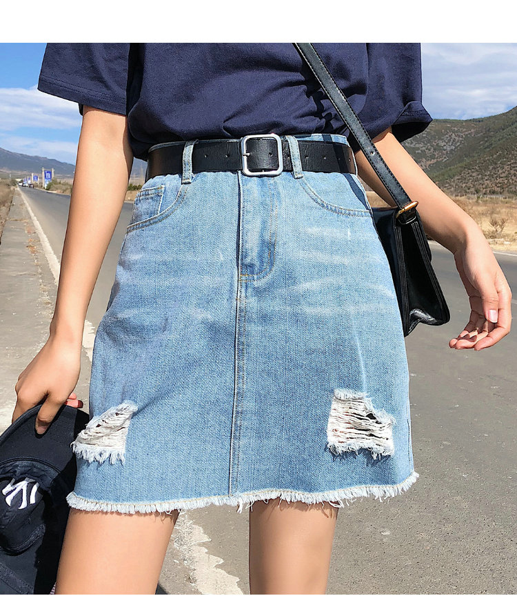 BOBOKATEER Plus Size Denim Skirt Women Skirts Womens Summer Sexy Mini High Waist Black Jean Skirt Female Jupe Falda Fashion 19 3