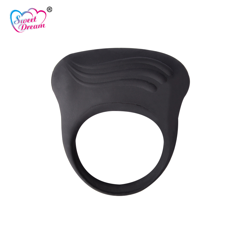 Sweet Dream Silicone Mini Penis Ring Clitoris Vibrator Cockring Delay Cock Penis Rings Sex Toys for Men Sex Products BLM-106