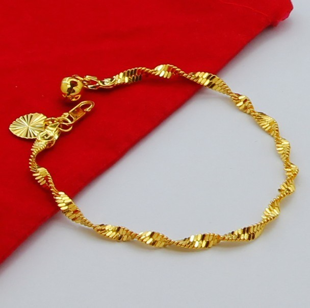 shop italian product bangle gold polished in main fpx twisted bracelet image