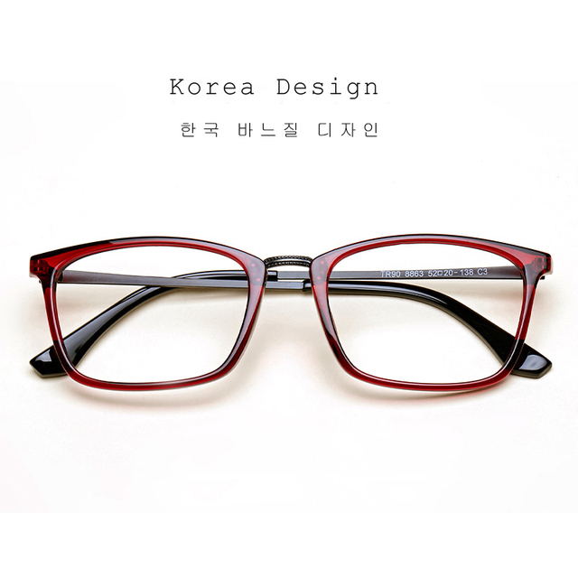 1cae8e7f25a LIYUE 2017 Fashion Vintage Optical frame Eyewear frame Brand eyeglasses  metal leg computer glasses frame Transparent