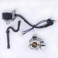 Carburetor Carb Ignition Coil Fuel Line Fit STIHL MS 290 MS 310 MS 390 029 039