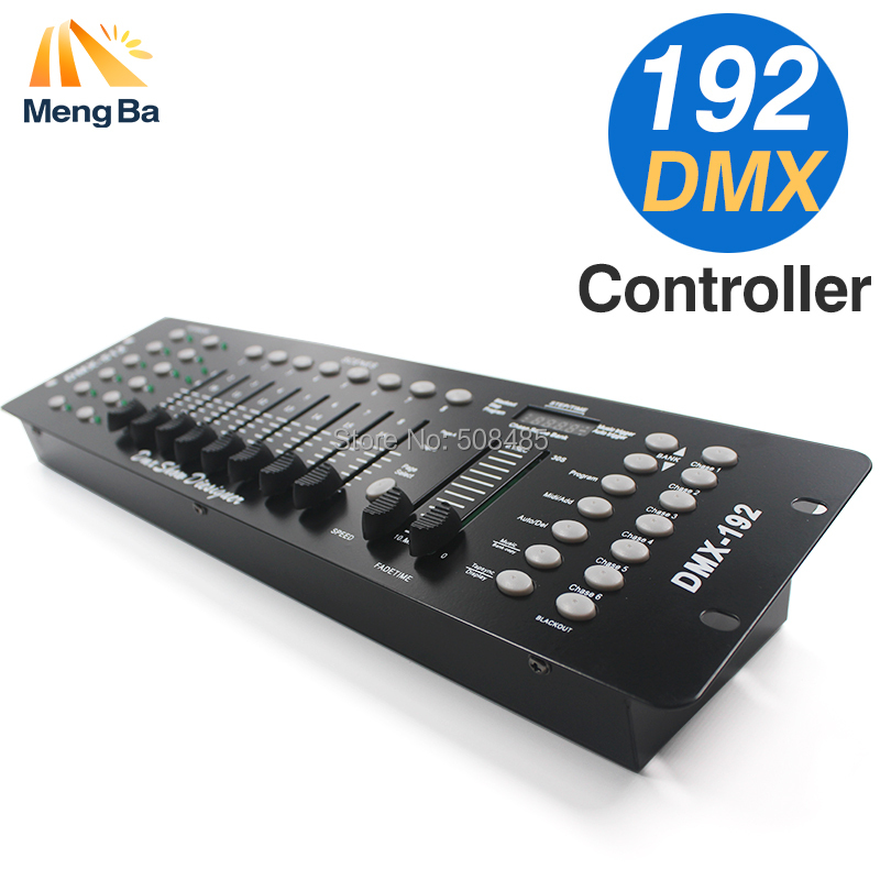 Free shipping NEW 192 DMX Controller Stage Lighting DJ equipment DMX Console for LED Par Moving Head Spotlights DJ Controller стоимость