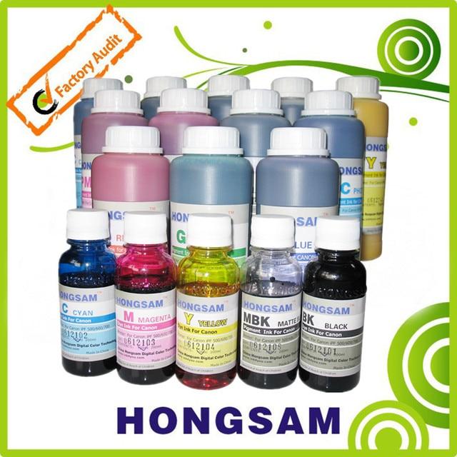 1000ML*8colors Dye ink suit for Canon IPF6000S/8000S/9000S/8010S/9010S