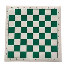 Турнирные шахматы из ПВХ кожи для детских образовательных игр