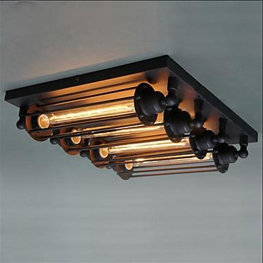 Retro Stil Loft Industrielle Deckenleuchte Edison Esszimmer Wohnzimmer Lichter LED Vintage Leuchte Plafonnier