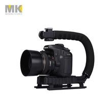 Selens DV C en forme de Caméra De Poche Titulaire flash support U-main Motion Stabilisateur stable cadre Grip pour vidéo 5d2 DSLR REFLEX