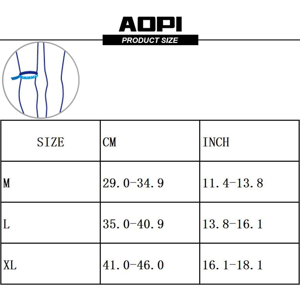 AOPI Μάρκα 1PCS μακρύ βαμβάκι Pad γόνατο - Αθλητικά είδη και αξεσουάρ - Φωτογραφία 5