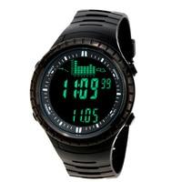 Spovan Outdoor Fishing Digital Watch 5ATM Waterproof Wristwatch Altimeter Barometer Thermometer Multifunctional Digital Watches
