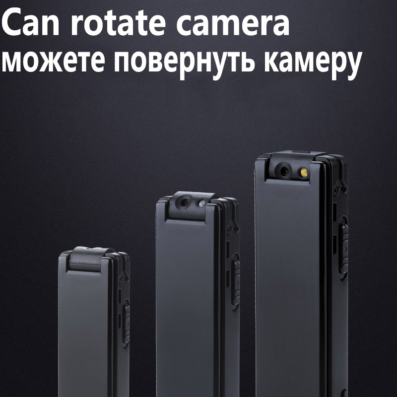 MAHDI Metal Mini camera 1088P video recording Strong magnetic adsorption Micro Voice Recorder Professional Audio