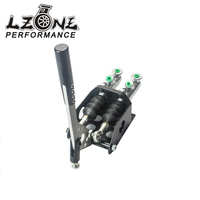 LZONE RACING Vertical Hydraulic Handbrake Twin Cylinder With Master Cylinder JR3944