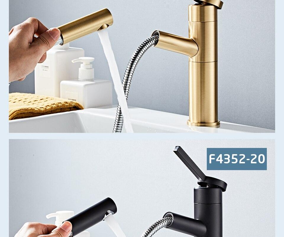 HTB1D8jJV9zqK1RjSZFpq6ykSXXaF - FRAP Basin Faucet Pull Out Bathroom Sink Faucet Single Handle Waterfall Bathroom faucet
