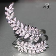 YaYI biżuteria księżniczka Cut 3 6 CT biały cyrkon srebrny kolor pierścionki zaręczynowe obrączki ślubne serce regulowane pierścienie pierścionki Party prezenty tanie tanio Moda Zaręczyny Zespoły weselne HR735 Kobiety Cyrkonia TRENDY 20mm Prong ustawianie yayi jewelry Geometryczne Miedzi Brak