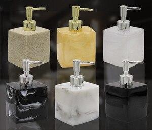 Image 2 - Resin hand sanitizer lotion bottle shower gel shampoo press bottle bathroom supplies portable soap bottle O002