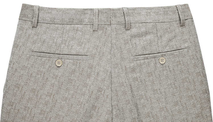 Mu Yuan Yang деловые повседневные летние тонкие Костюмные брюки классические мужские льняные брюки прямые рабочие брюки против морщин размера плюс