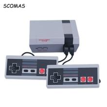 SCOMAS 8 Bits Klassische Familie Spielkonsolen System TV Video Mini Handheld-konsole Für NES Spiel Player Eingebaute 620 spiele