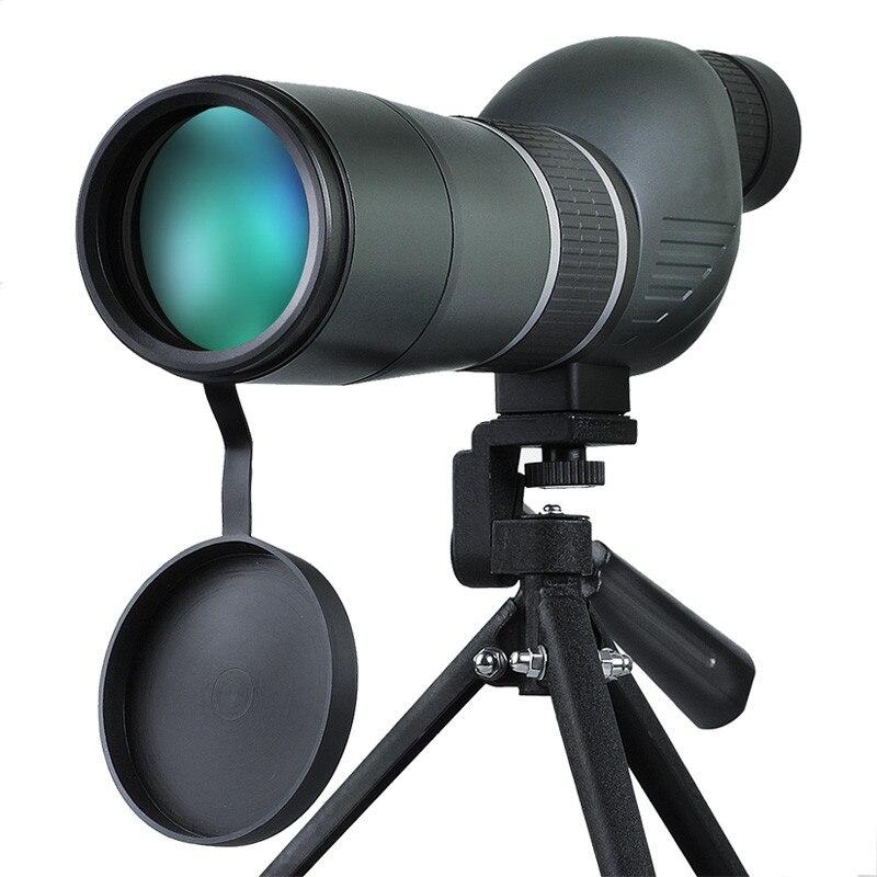 Suncore 15-45X60S Монокуляр BAK-7 HD Призма Класс Зрительная труба FMC многослойным оптические линзы наблюдение за птицами телескоп telescopio