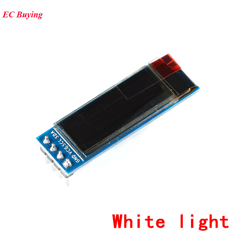 0.91 Inch 128x32 OLED SSD1306 OLED Display DIY Module I2C IIC Serial 0.91