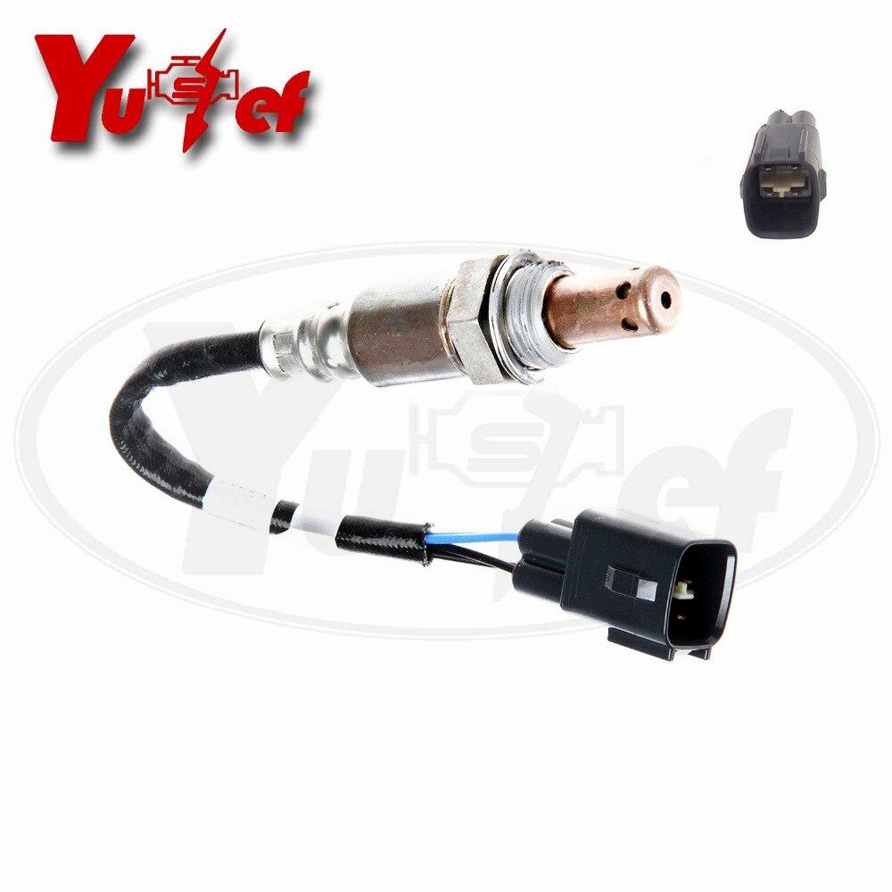 Sensor de oxígeno YUSSEF relación de combustible de aire O2 apto para TOYOTA Land Cruiser LEXUS GS300 GS450H IS250 DOX-0263 4 cables Lambda