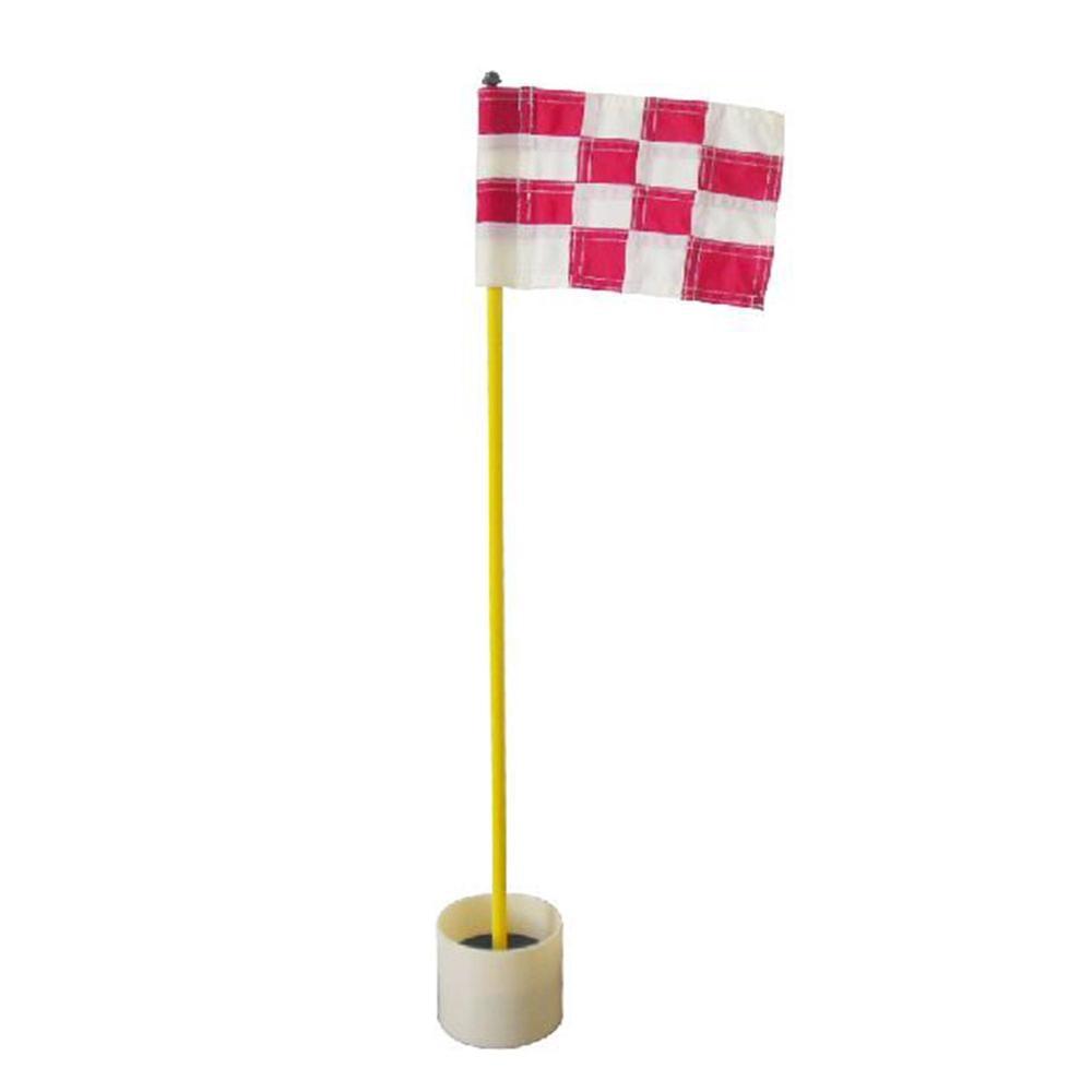 online shop 1set backyard golf practice set golf hole pole cup