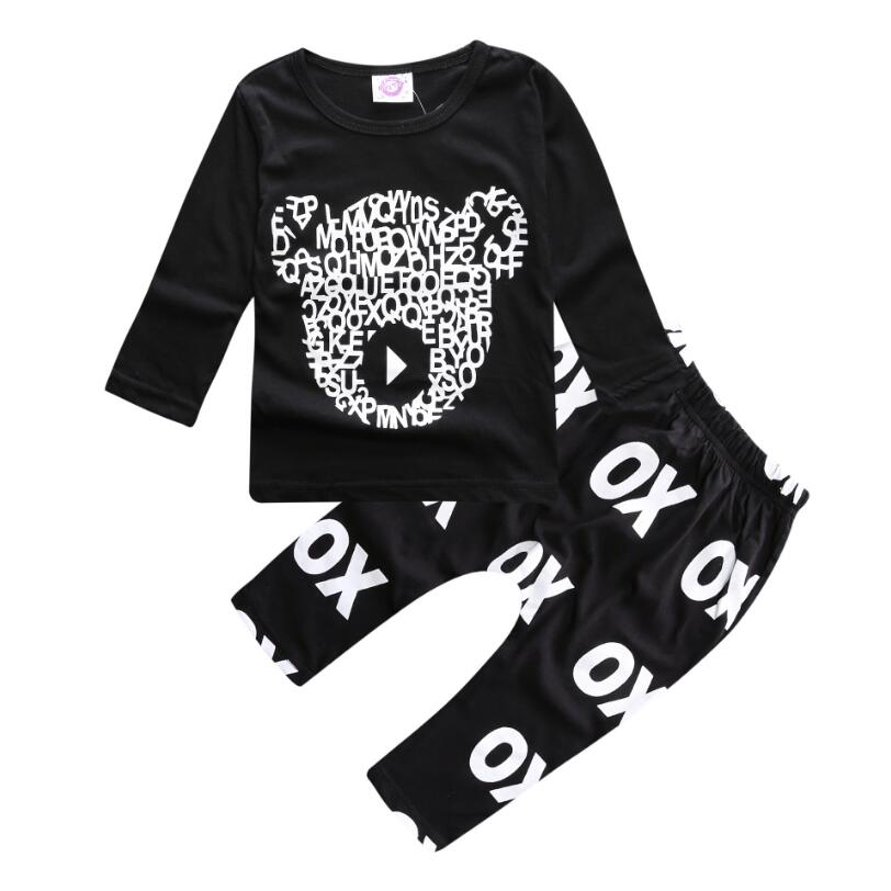 baby boy clothes infant long sleeves O-Neck cotton little bear printing clothing set ropa de bebe newborn baby clothes winter long sleeves with feet baby boy girl clothes babies overalls ropa de bebe infant product baby romper