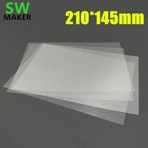 SLA DLP 3D части для принтера уф-смола f46,fep мембрана тефлон с клейким слоем покрытие резервуара flim 210*145 мм Размер