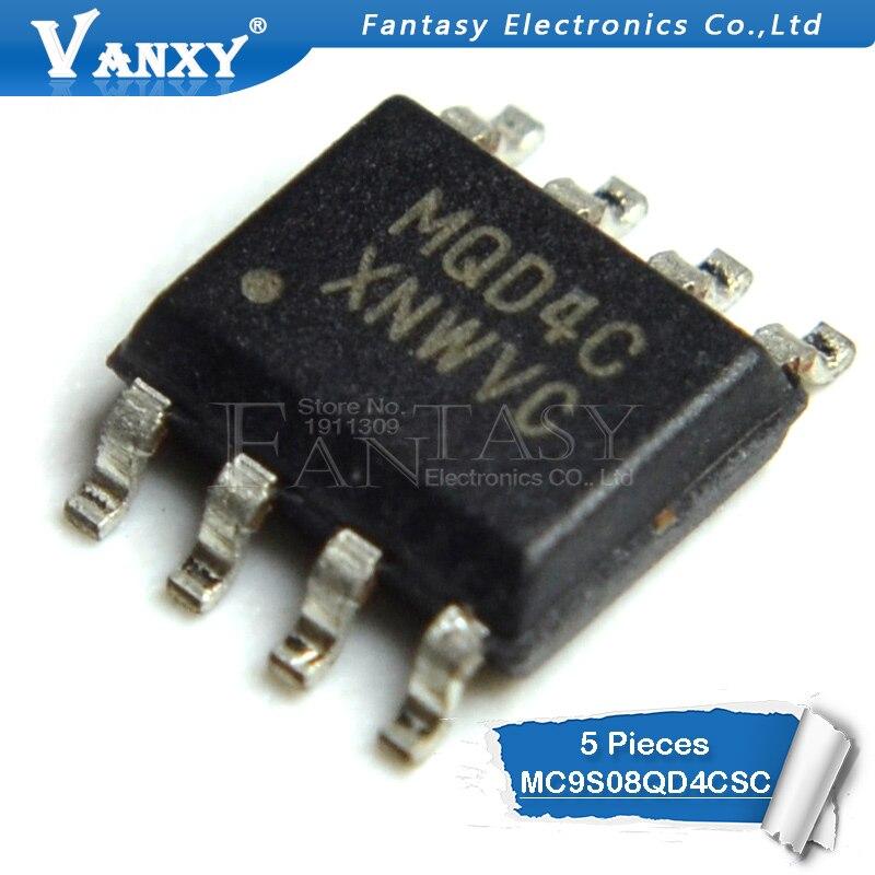 5pc MC9S08QD4CSC SOP-8 MQD4C SOP8 SOP8 SOP