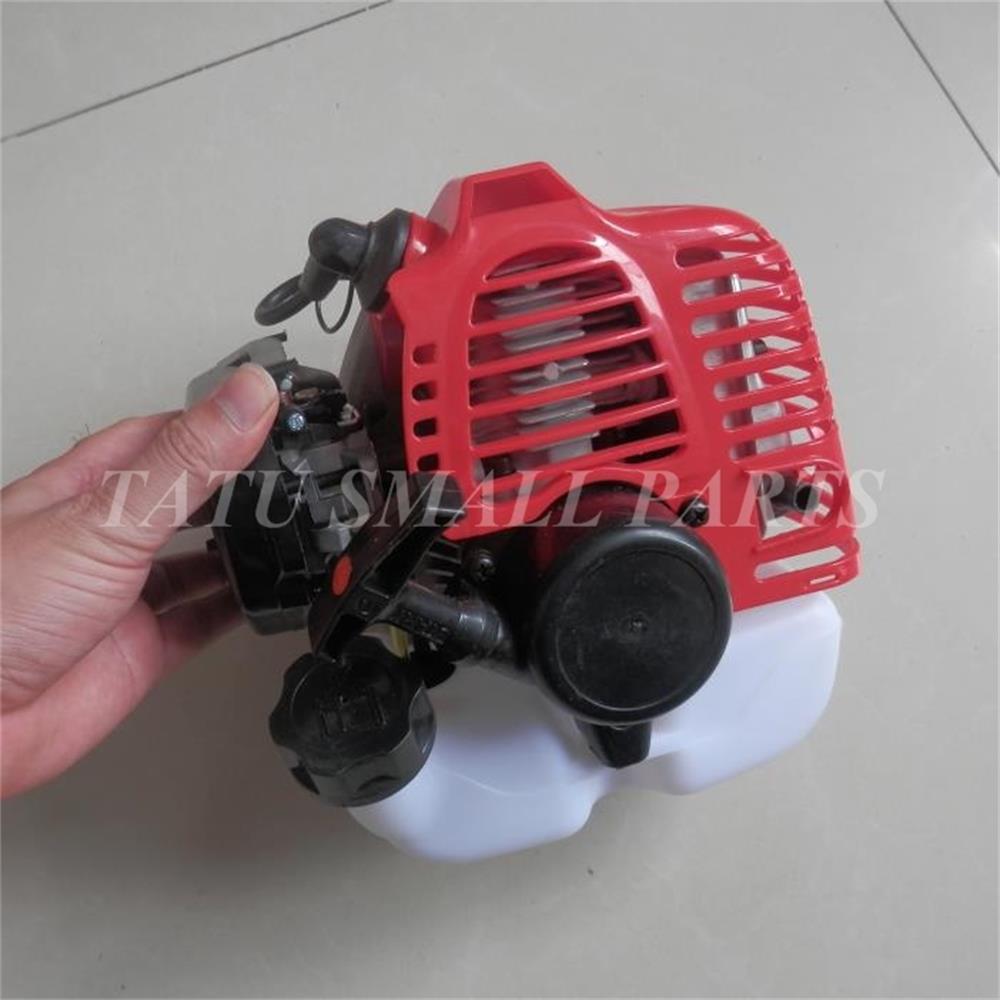 TU26 GASOLINE ENGINE MINI 2 CYCLE 25 6CC 1 2HP POWERED BACKPACK PETROL BRUSHCUTTER TRIMMER BOWER