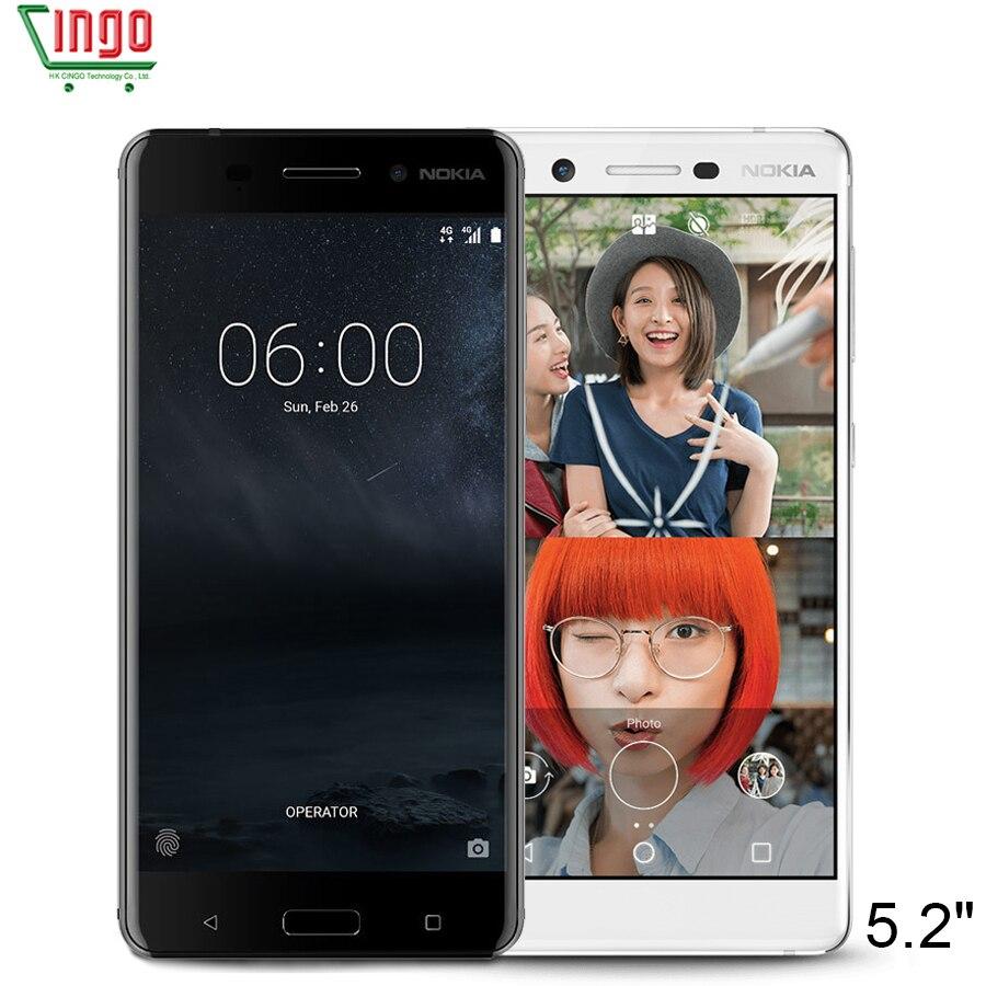 Unlocked Original Nokia 7 64GB ROM 5 2 Dual Sim Octa Core Snapdragon 630 Type C