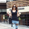 Sexy low-cut top summer short design t-shirt female slim maxi size irregular placketing big u sexy tight close fitting top tee
