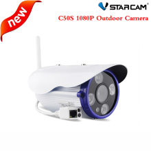 Vstarcam New C50S Full HD 1080P Outdoor Waterproof Bullet IP Camera ONVIF 2.4 Dual IR-CUT 35m H.264 suppot 64G TF record