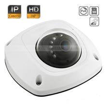 Original English DS-2CD2532F-I Hik 3MP HD IR Micro SD Storage Network POE Vandal CCTV Mini Dome IP Camera