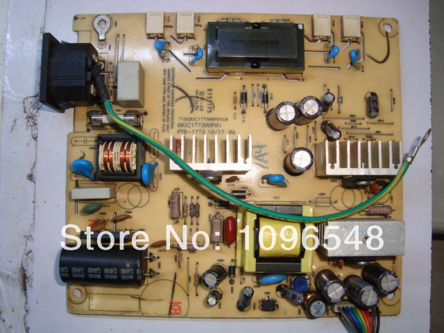 Free Shipping>PTB-1773 Pu  W2007  W2207 integrated high voltage power supply board-Original 100% Tested Working free shipping original e172fpt 6832142100 02 02 ptb 142 141 power board original 100% tested working