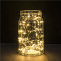 2M 20LEDs Fairy Copper Wired Twinkle String Lights Battery Operated Automatically ON for 6 Hours OFF for 18 Hours