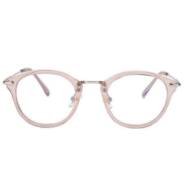 4ec74e0acf placeholder ROYAL GIRL High Quality TR Frame Fashion Glasses Women  Eyeglasses frame Vintage Brand Deaigner Round Clear