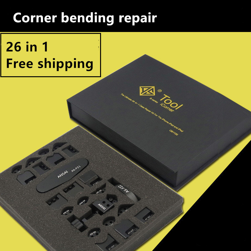 Новый высококачественный комплект iCorner 26 в 1 для iPod iPad iPhone 5 5S 6 6 S 7 7Plus 8 8plus угловая боковина изгиб Ремонт рамы