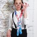 18 Estilos Para Mujer Lazo Estrecho de Colores de Alta Calidad de Las Mujeres de Cuello lazo Delgado Verano Estilo Mujeres Lazos Muchachas de la Impresión del Banquete corbata