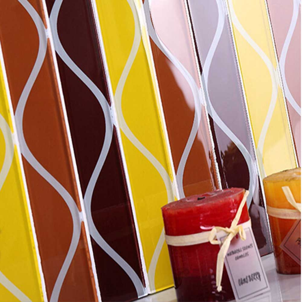 Europe Crystal Glass Mosaic Font