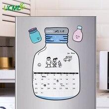Magnetic Calendar Message board Memo Schedule Dry Wipe Board Chinchilla Planner Daily OrganizerMenu Fridge Stickers Home Decor