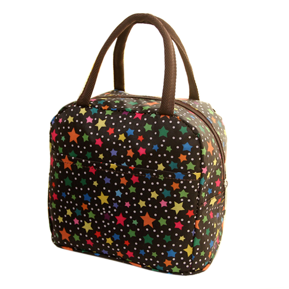 Fashion Thermal Insulated Tote Picnic Lunch Cool Bag Cooler Box Handbag Pouch high quality Picnic Bag